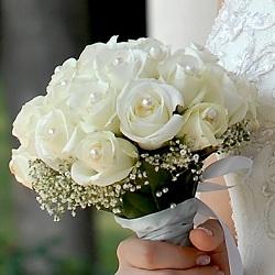Свадебные цветы на руку фото