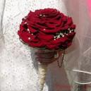 """Свадебные букеты из роз """"Гламелия"""""""