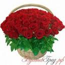 """Корзина с розами """"Колдунья"""""""