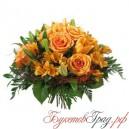 Букет «Оранжевая прелюдия»