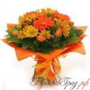 Букет «Оранжевый букет»