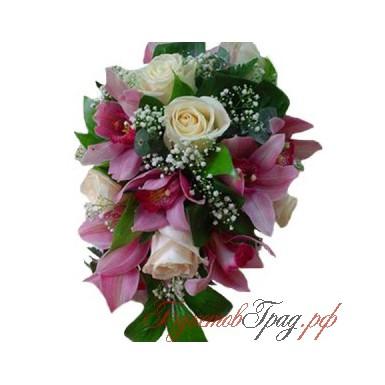 Букет невесты «Будь со мной»