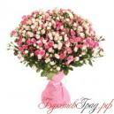 Букет из 39 кустовых роз микс