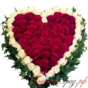 "Сердце из роз ""Диана"""