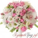 """Букет невесты """"Розовое сияние"""""""